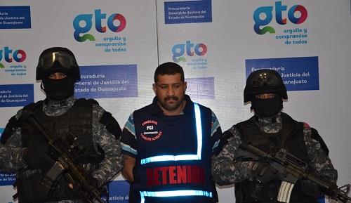 Luego de investigaciones se detuvo en Uriangato al delincuente.