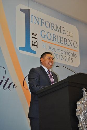 Resalta inversión de 225 millones de pesos para realizar obras en 2013