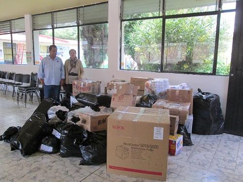 Los donativos se reciben en las oficinas del DIF ubicadas en la calle Salvador Urrutia #139.