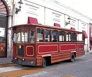 Luego de estar encerrado un año, se fue de Moroleón el tranvía.
