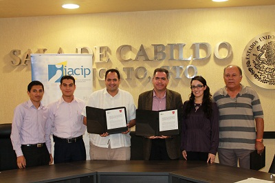 El Secretario del IACIP agradeció a los municipios su voluntad de firmar el convenio.