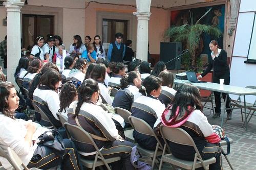 Las actividades se desarrollaron en la presidencia municipal y en el jardín principal.