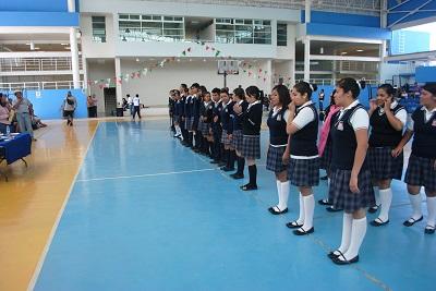 compitieron en las disciplinas de futbol, basquetbol, voleibol, atletismo, ajedrez y concurso de escolta, en categorías varonil y femenil