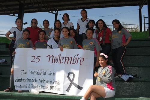 participaron los equipos del Bachillerato SABES Tarimoro Norte (La Noria), el CBTis 255 de cabecera Municipal y el equipo Panteras perteneciente a la liga femenil de futbol