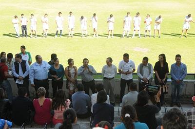 Mauricio Javier Zúñiga Flores, Subsecretario de Prevención, establece el compromiso para seguir impulsado este tipo de acciones deportivas para prevenir el delito