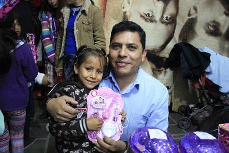 Las administraciones municipales festejaron en grande a los niños.