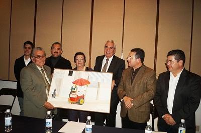 Se rindió homenaje al ex alcalde de Acámbaro, Nicolás Rangel Jiménez.