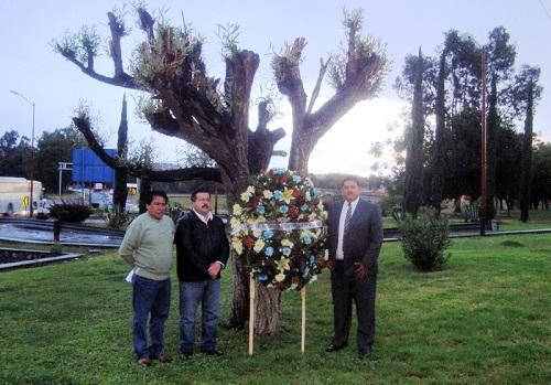 Autoridades municipales rindieron homenaje a los mártires de Acámbaro, que murieron el 25 de diciembre de 1810
