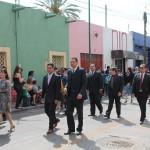 Militar e invitados de los municipios de Moroleón, Yuriria, Valle de Santiago y Salvatierra.