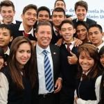 En un día histórico para Moroleón, anuncia el gobernador del Estado, Miguel Márquez, el inicio de actividades la Escuela Preparatoria Regional del Sur de Guanajuato para el próximo ciclo escolar