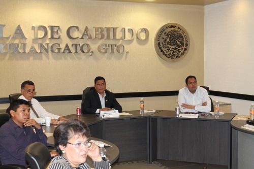 Uriangato fue la sede de la primera reunión