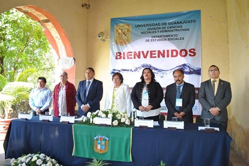 INAUGURAN EL TERCER CONGRESO DE LA RED DE INVESTIGADORES SOCIALES SOBRE EL AGUA