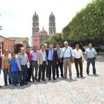 SE HABILITAN LOS PRIMEROS TRAMOS DE LAS OBRAS DE PUEBLO MÁGICO: RITO VARGAS VARELA
