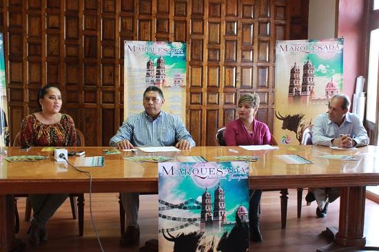 Presentan oficialmente el cartel y programa del Festival Marquesada 2014 en su octava edición; el Festival se realizará del 20 al 28 de septiembre, destacando la presentación artística de Guadalupe Pineda y Susana Zavaleta.