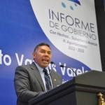 RITO VARGAS VARELA RINDE SU SEGUNDO INFORME DE GOBIERNO