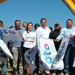 EL PRESIDENTE MUNICIPAL RITO VARGAS VARELA EN COMPAÑÍA DEL GOBERNADOR DEL ESTADO MIGUEL MÁRQUEZ MÁRQUEZ ARRANCARON EL PROGRAMA PARA CONSTRUCCIÓN DE SILOS PARA ALMACENAJE 2014 EN SALVATIERRA