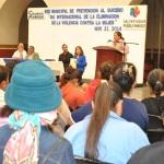 CONMEMORARON EL DÍA INTERNACIONAL DE LA ELIMINACIÓN DE LA VIOLENCIA CONTRA LA MUJER