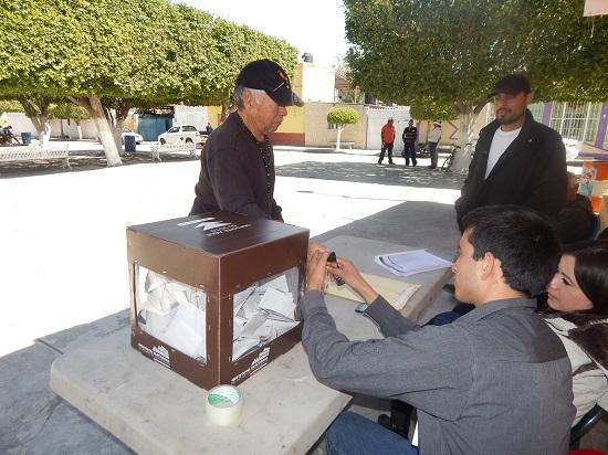 Tales comunidades fueron las que registraron una o más planillas para la elección de delegados, evento que se llevó a cabo el pasado domingo 14 de febrero.