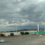 SE CAE TECHO DE GASOLINERA EN TARIMORO