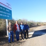 Se realizan acciones en mejora de carreteras de las comunidades