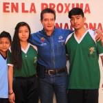 Este logro se debió en mucho al apoyo que los jóvenes han recibido por parte de la dirección de deportes y del presidente municipal Velázquez Fernández, durante esta administración ya que el anterior gobierno se les negó.