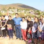 Finalmente el presidente realizó un recorrido de supervisión del mejoramiento del camino que comunica las comunidades de San Pablo Pejo y el Toronjo.