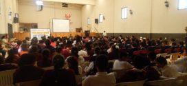 Realizan conferencia con el objetivo de concientizar a los jóvenes.