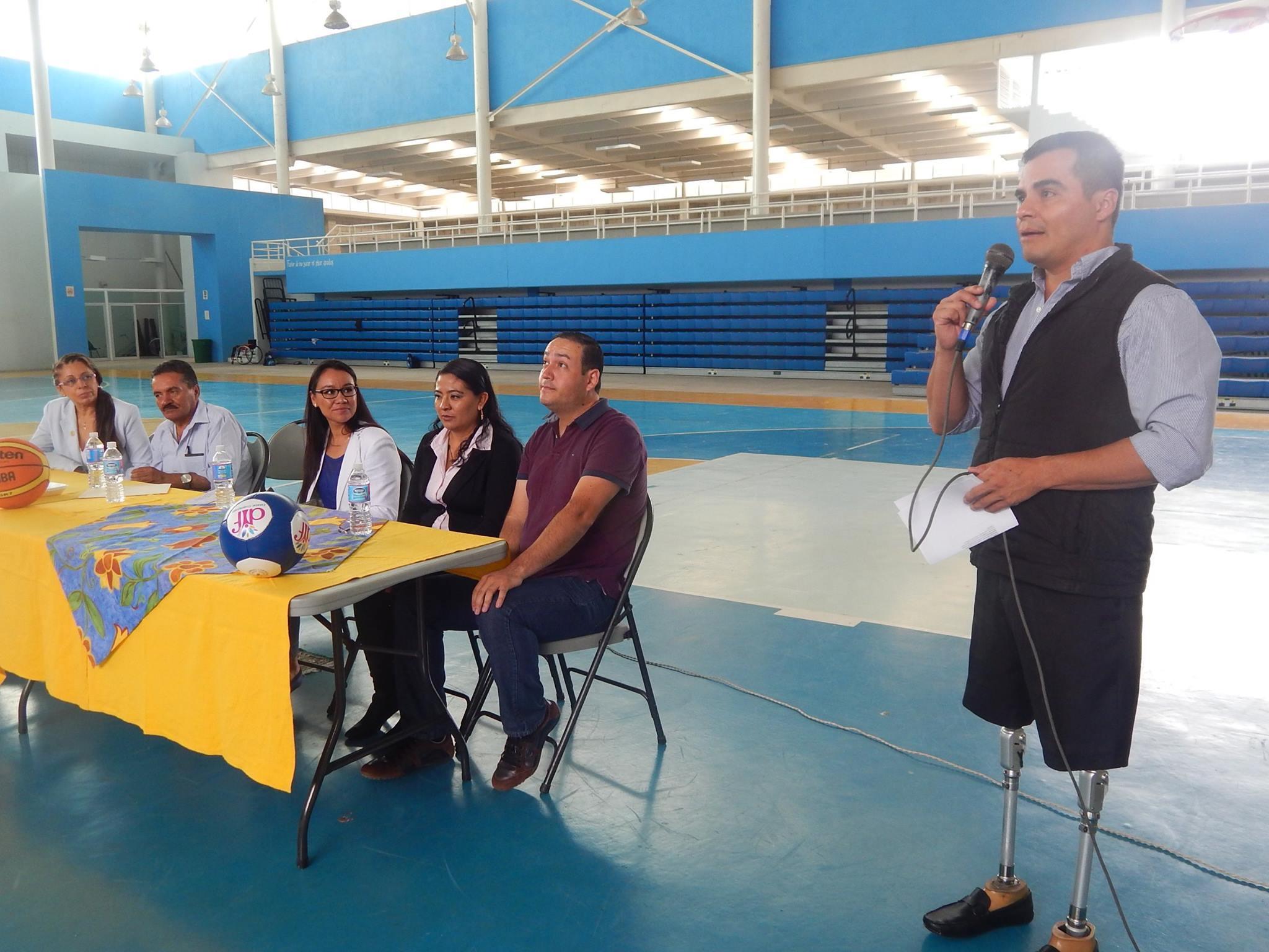 En su mensaje el Ing. Rafael Ramírez Tirado, dijo que este sector de la población es uno de los más olvidados, pero en su gobierno se pretende impulsar la inclusión no solamente en el aspecto deportivo y cultural, sino también en el laboral.