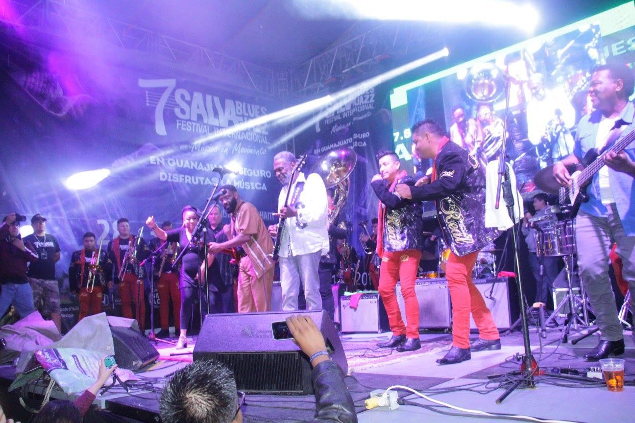 Concluyo el salvabluesjazz festival en su séptima edición, evento organizado por Vicente Corona y Wendy Castillero, con el apoyo del gobierno municipal de Salvatierra que encabeza J. Herlindo Velázquez Fernández y por autoridades del estado de Guanajuato.
