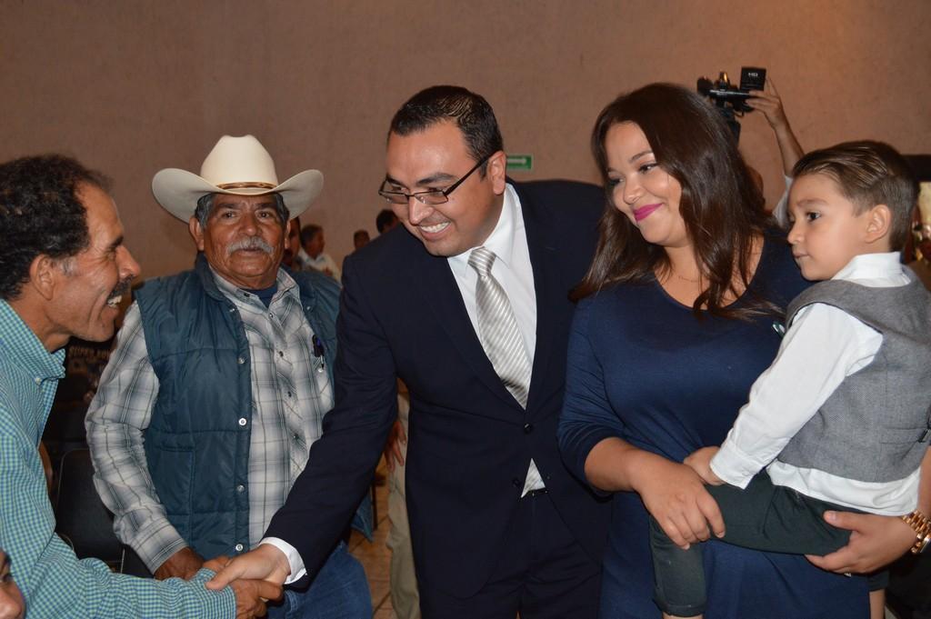 Rinde su Primer informe de Gobierno, Gerardo Javier Alcántar Saucedo,