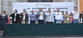 Celebran un aniversario más de la Fundación de San Francisco de Acámbaro.
