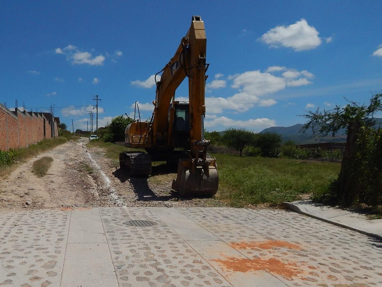 En su mensaje el primer edil dijo que su gobierno sigue trabajando para impulsar las obras básicas en el municipio