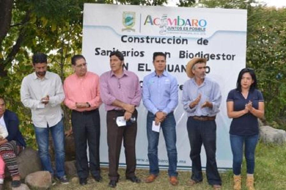 Gerardo Alcántar, expresó que el objetivo de esta administración es y será beneficiar a la gente que mas lo necesita