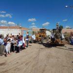 La gira inicio en la comunidad de La Noria