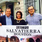 Gracias a la participación activa del Grupo Salvatierra-Houston se contactó a dos Congresistas Federales de los Estados Unidos