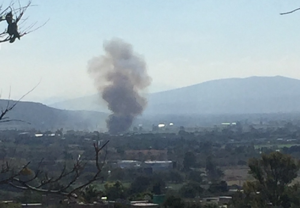 Uno de los incendios más espectaculares fue cerca de la comunidad de Fuentes, en donde se quemó un pastizal de aproximadamente una hectárea, aunque no se registraron lesionados ni daños a viviendas.