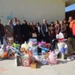 entregaron más de 200 juguetes a niños de comunidades rurales