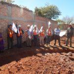 Decenas de habitantes de la comunidad dieron la bienvenida al primer Edil, Ing. Rafael Ramírez Tirado