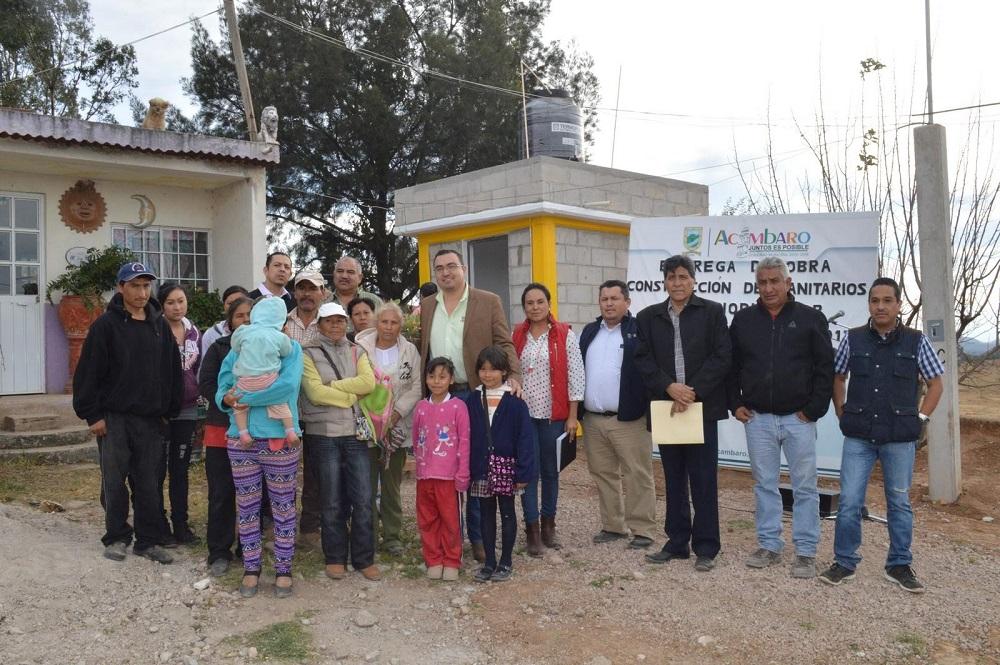 La inversión fue de 633 mil pesos por parte del municipio provenientes del Ramo 33 Fondo 1.