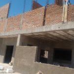 La construcción de la central de Bomberos está en un 60 por ciento, aunque se estima que será terminada en tiempo.