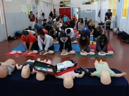 Se han dado 56 capacitaciones en diferentes comunidades, dando un total de 457 personas capacitadas en primeros auxilios brigadistas