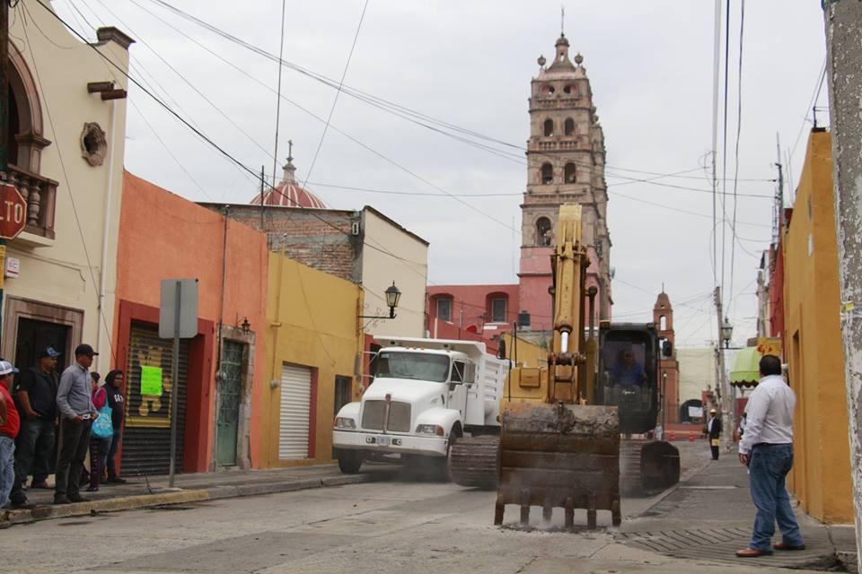 Las obras proyectadas en este 2017, incluyen la rehabilitación de las fachadas de la Explanada del Carmen y la pavimentación de este tramo de la calle Juárez