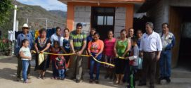 ENTREGAN 13 SANITARIOS CON BIODIGETORES MÁS, EN LA COMUNIDAD DEL RODEO