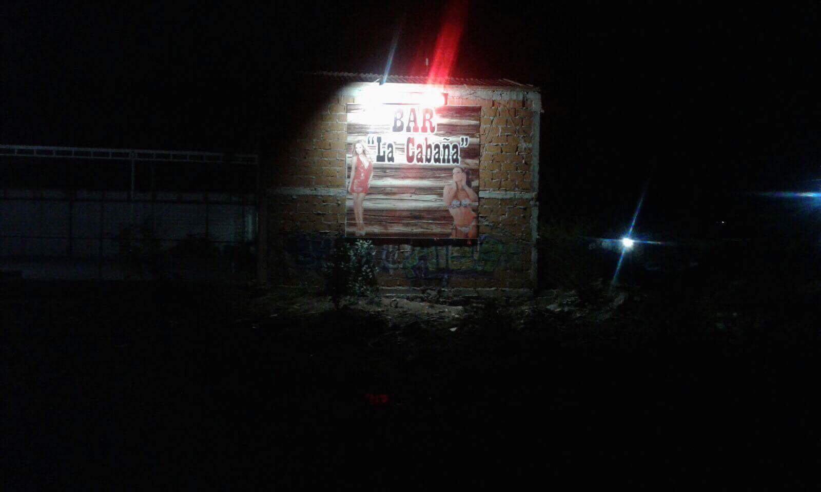 Enfrentamiento en centro nocturno La Cabaña