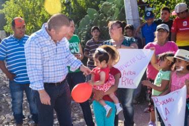 En su intervención el Presidente Municipal Ricardo Villarreal García destacó las ventajas de tener un acceso fácil