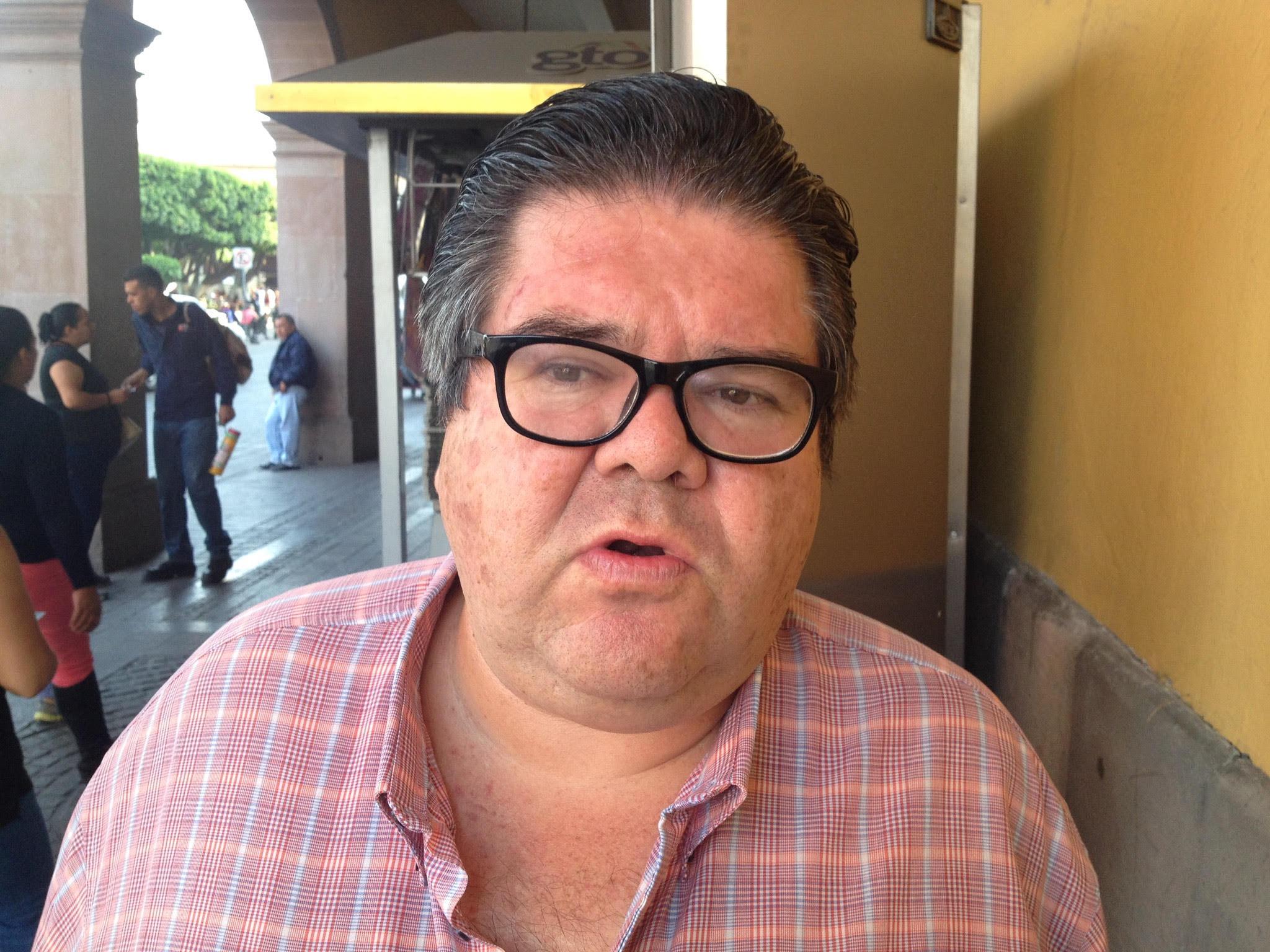 Regidor Jorge Montes González, coordinador de la bancada priísta.
