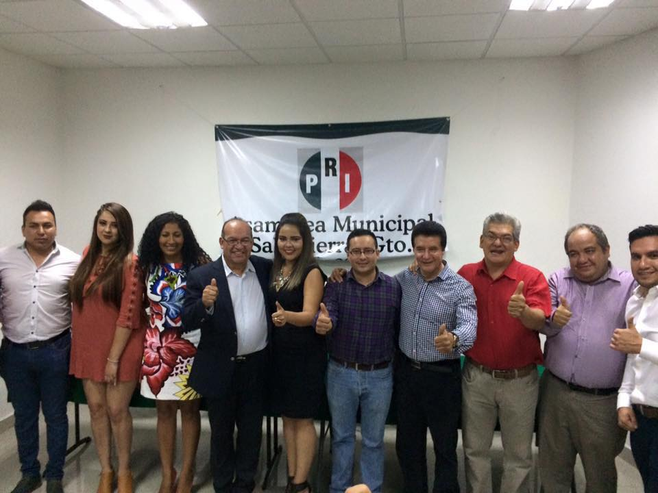Sisay Sánchez Ruiz, tomó protesta en conjunto con estructura, siendo integrada por Eduardo Peña, Gabriela Ruiz, Luis González, Mayra Ruiz, Doris García, Antonio Ruiz, Gerardo Santoyo, Rurik Garza, y Ulises Moreno.