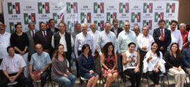 Gerardo Sánchez presenta estructura de campaña