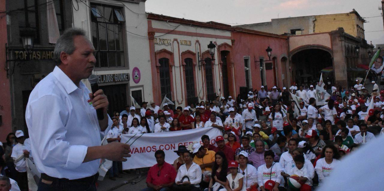 Gerardo Sánchez reiteró que una de sus prioridades será retornar la paz y la tranquilidad a todas las familias guanajuatenses